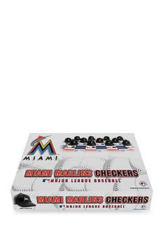 Rico Industries Miami Marlins Checker Set