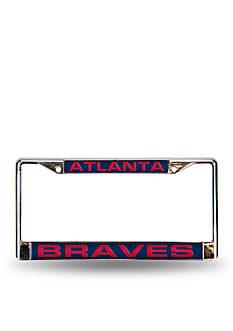 Rico Industries Atlanta Braves Red Chrome License Frame