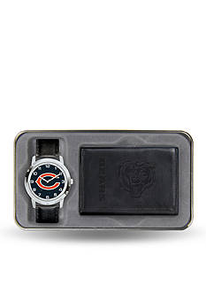 Rico Industries Chicago Bears Black Watch and Wallet Gift Set-Online Only