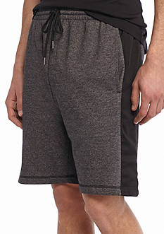 Red Camel Mix Media Athletic Shorts