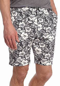 Red Camel Hybrid Size Zip Floral Shorts