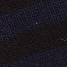 Original Penguin: Black / Navy Original Penguin Touch Tek Knit Stripe Gloves
