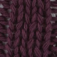 Guys Accessories: Cold Weather: Italian Plum Original Penguin Cable Knit Watch Cap w/ Pom