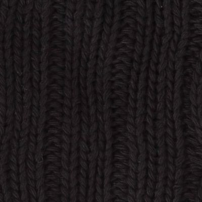 Guys Accessories: Cold Weather: Black Original Penguin Cable Knit Scarf