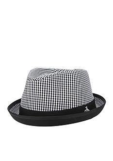 Original Penguin 'Miramar' Gingham Fedora Hat