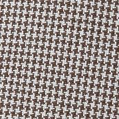Men's Accessories: Caps & Hats: Brown Haggar Houndstooth Baseball Cap
