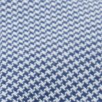 Men's Accessories: Caps & Hats: Blue Haggar Houndstooth Seam Driving Cap