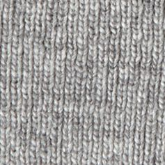 Guys Accessories: Cold Weather: Neutral Gray Haggar Striped Cuffed Beanie Cap
