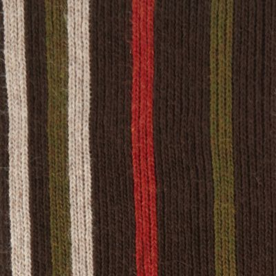 Guys Accessories: Hats, Scarves & Gloves: Bracken Haggar Striped Scarf
