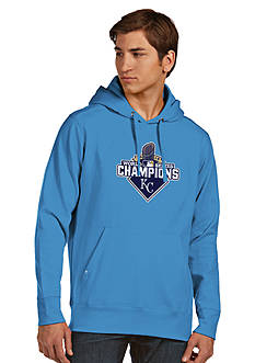 Antigua Kansas City Royals 2015 World Series Champs Applique Signature Hoodie