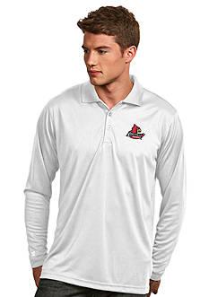 Antigua Louisville Cardinals Long Sleeve Exceed Polo