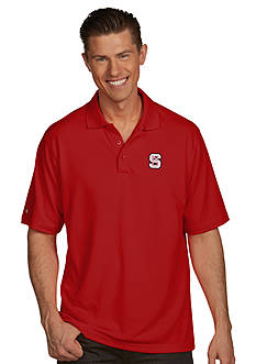 Antigua NC State Wolfpack Pique Xtra Lite Polo
