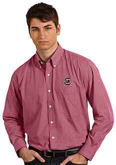 Antigua South Carolina Gamecocks Focus Woven Shirt