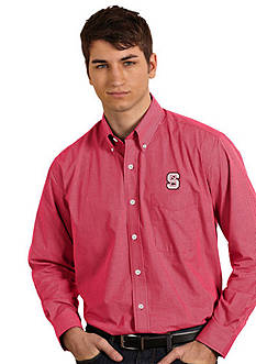 Antigua NC State Wolfpack Focus Woven Shirt
