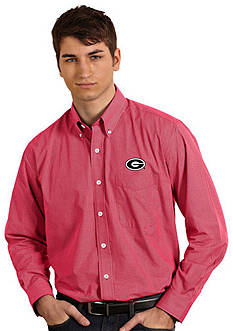 Antigua Georgia Bullbogs Focus Woven Shirt