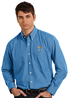 Antigua Kansas Jayhawks Focus Woven Shirt