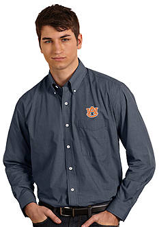 Antigua Auburn Tigers Focus Woven Shirt