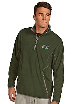 Antigua Miami Hurricanes Ice Pullover