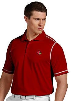 Antigua Louisville Cardinals Icon Polo