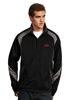 Antigua Arkansas Razorbacks Tempest Jacket