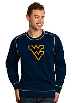 Antigua West Virginia Mountaineers Applique Men's Volt Pullover
