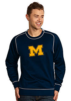Antigua Michigan Wolverines Applique Men's Volt Pullover