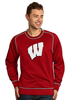 Antigua Wisconsin Badgers Applique Men's Volt Pullover