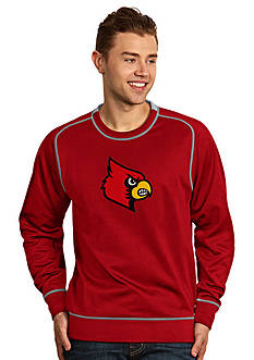 Antigua Louisville Cardinal Applique Men's Volt Pullover