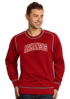 Antigua Arkansas Razorbacks Applique Men's Volt Pullover
