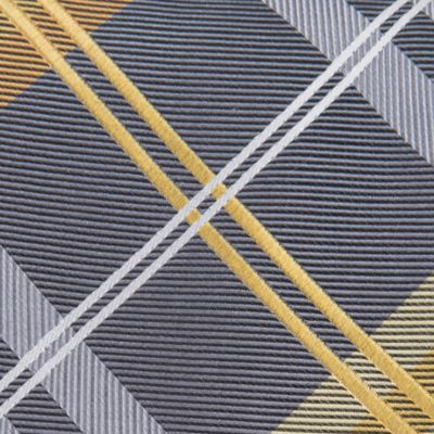 Geoffrey Beene Men Sale: Yellow Geoffrey Beene Petros Plaid Tie II
