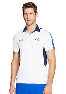 Polo Sport Pique Mesh Polo Shirt