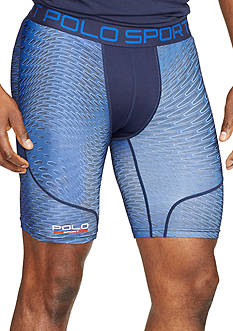 Polo Sport Printed Compression Shorts