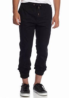 Red Camel Solid Stretch Twill Jogger Pants