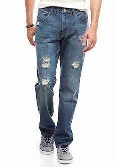 Red Camel Vintage Destructed Original Straight Jeans