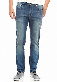 Red Camel Bleached Out Indigo Wash Jeans