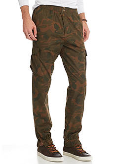 Red Camel Camo Cargo Jogger Pants