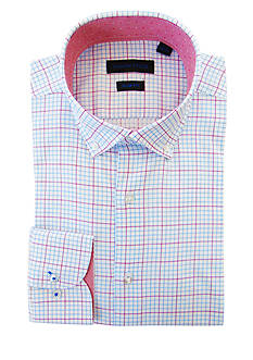 Andrew Fezza Slim Fit Multi Check Dress Shirt