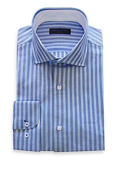 Andrew Fezza Slim Fit Striped Dress Shirt Belk