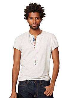 Denim & Supply Ralph Lauren Flag-Placket Henley T-Shirt