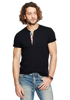 Denim & Supply Ralph Lauren Flag-Placket Henley Shirt
