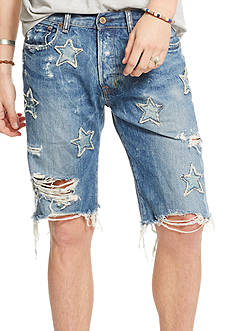 Denim & Supply Ralph Lauren Slim-Fit Denim Shorts
