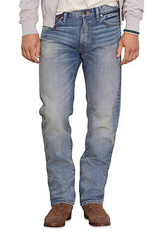 Denim & Supply Ralph Lauren Straight-Fit Comstock-Wash Jeans