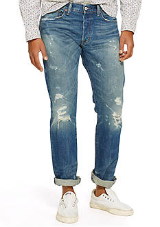 Denim & Supply Ralph Lauren Slim Shredded Jeans