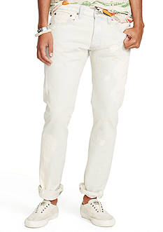Denim & Supply Ralph Lauren Slim-Fit Colfax-Wash Jeans
