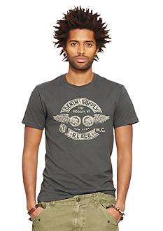 Denim & Supply Ralph Lauren Short Sleeve Crew Graphic Tee