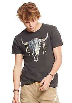 Denim & Supply Ralph Lauren Graphic Jersey Crewneck Shirt
