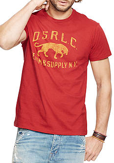 Denim & Supply Ralph Lauren Jersey Graphic Tee