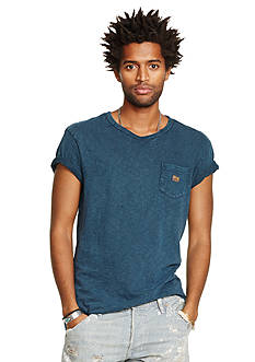 Denim & Supply Ralph Lauren Cotton Jersey Crewneck Tee