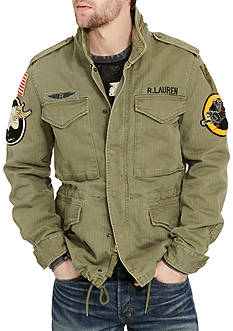 Denim & Supply Ralph Lauren Military Patches Field Jacket