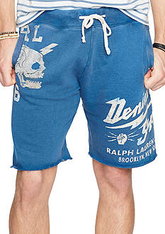 Denim & Supply Ralph Lauren French Terry Cutoff Shorts
